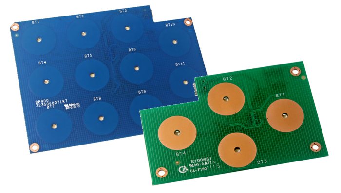 Panel de botones USB